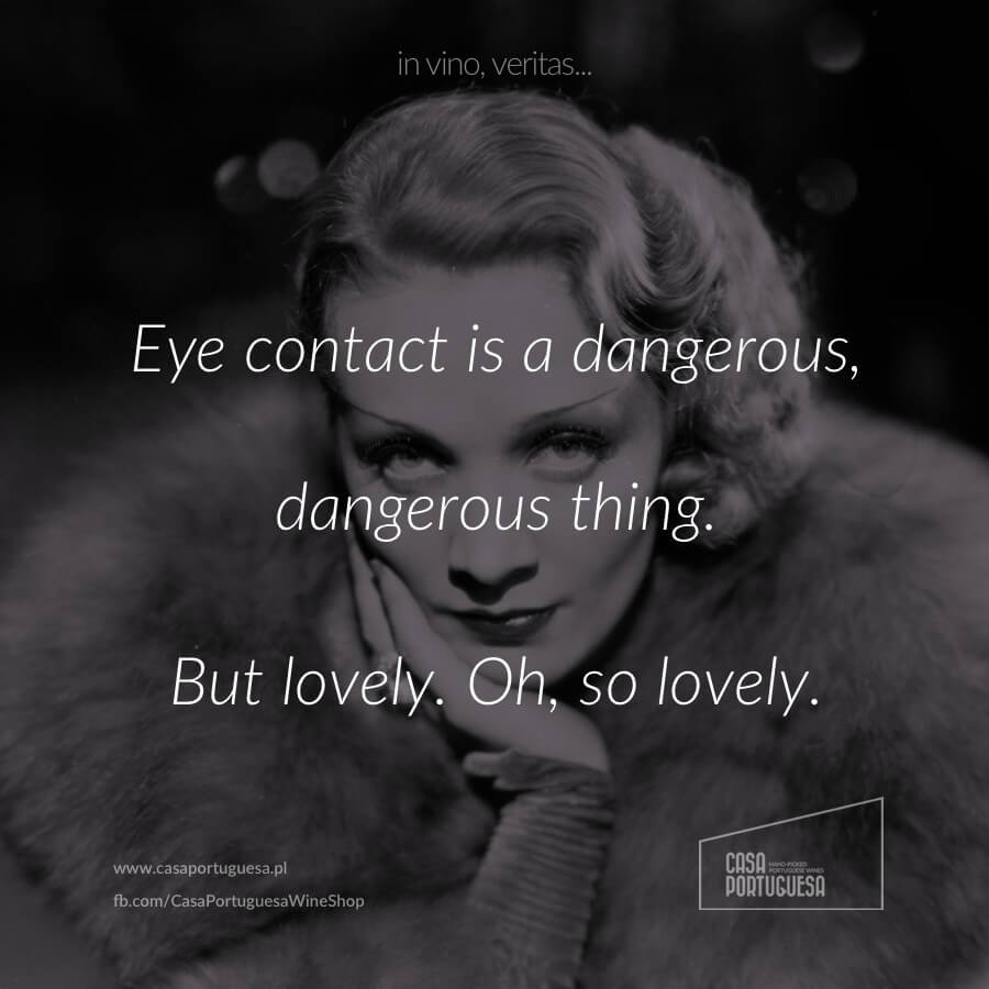 Eye contact is a dangerous thing